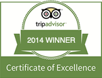 Trip Advisor - Recommended 2014